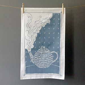 Teapot Tea Towel - kitchen accessories