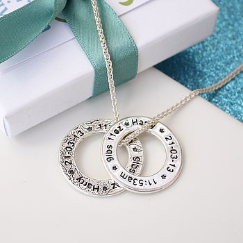 Personalised Mother's Celebration Necklace