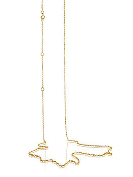 Gold Vermeil Adjustable Chain