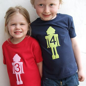 Personalised Age T Shirt
