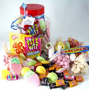 Retro Sweety Jar - sweet treats