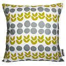 Scandinavian Printed Fabric Cushion