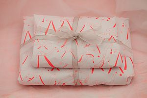 Flamingos Gift Wrap