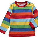 Variety Of Organic Cotton Stripe T Shirts