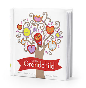 'For My Grandchild' Record Book - keepsakes
