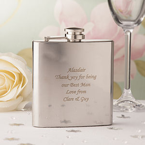 Personalised Hip Flask - albums & keepsakes