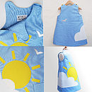 Girls Blue Sky Dress