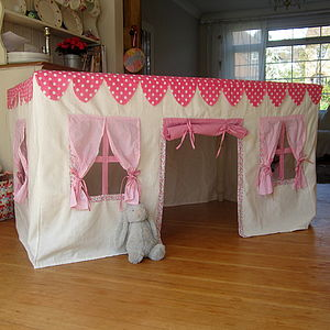 Fabric Playhouse - tents, dens & wigwams
