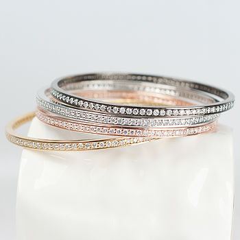 Classic Diamante Bangle