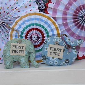 My First Tooth And Curl Cushion - shop by room