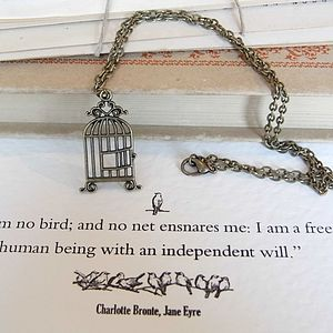 Jane Eyre Birdcage Necklace - necklaces & pendants