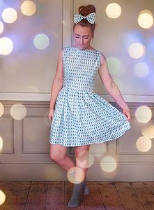 Macaroon 50s Style Dress - dresses & skirts