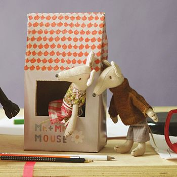 Mr And Mrs Mouse Gift Set
