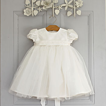 Madison Silk And Tulle Dress