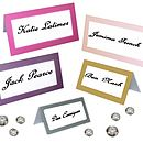 Blank Place Cards For Weddings And Parties