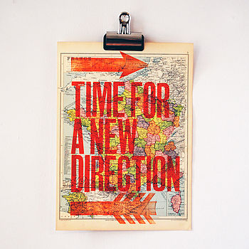 A New Direction Orange type