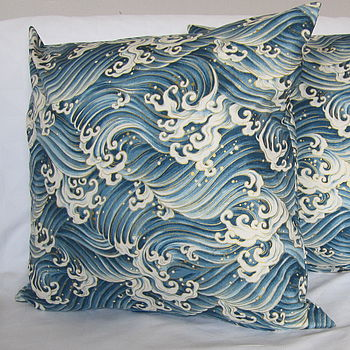 Japanese Ocean Cushion
