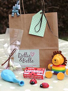 Set Of Six Party Bags - children's parties
