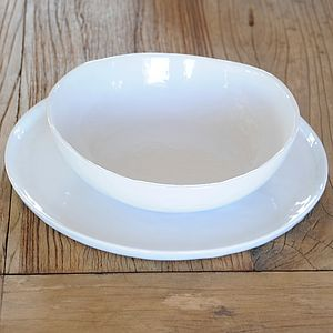 Crumple Plates Or Bowls - tableware