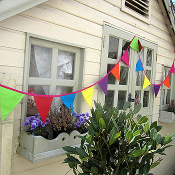 Bright Colourful Summer Bunting