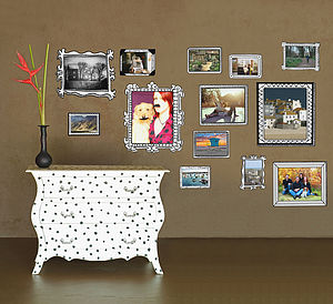 Photo Frames Wall Stickers - dining room