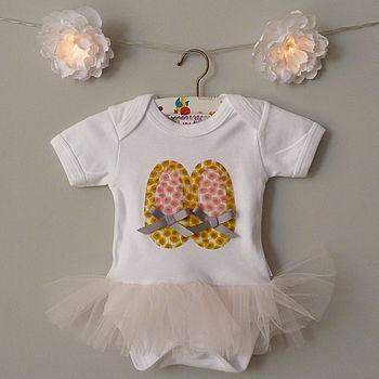 Yellow Xanthe Sunbeam Tutu Bodysuit
