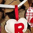 Hand Stitched 'Mr And Mrs' Fabric Bunting