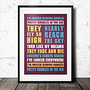 Favourite Football Songs Poster