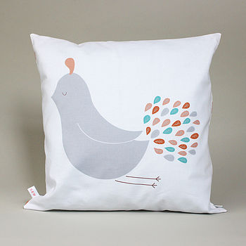 Snooty Bird Reversible Cushion