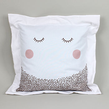 Lady Grey Cushion Cover