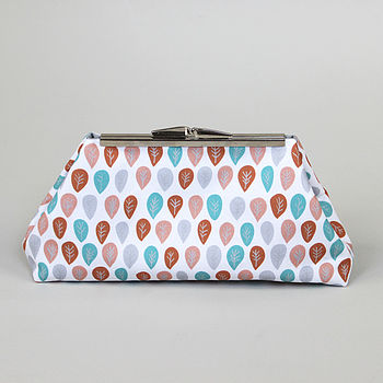 Snooty Feathers Clutch Bag