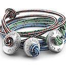 Men's Rope Love Bead Bracelet