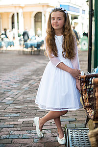 Amy Tulle Dress - christening wear