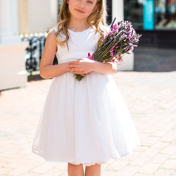Sarah Tulle Dress White