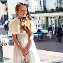 Ivory Sarah Tulle Dress