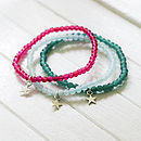 Clara Friendship Bracelet With Silver Star