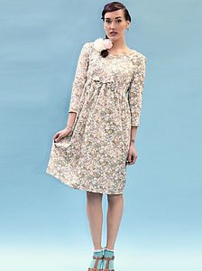 Florance Floral Liberty Print Dress - dresses & skirts