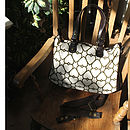 Alice: Canvas & Leather Laptop Bag