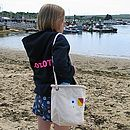 Beach Bag With SOS Design