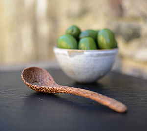 Coco Wood Olive Spoon