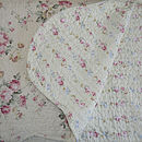 Rose Quilted Square Pillowcase