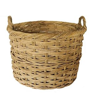 Chunky Rattan Basket - storage baskets