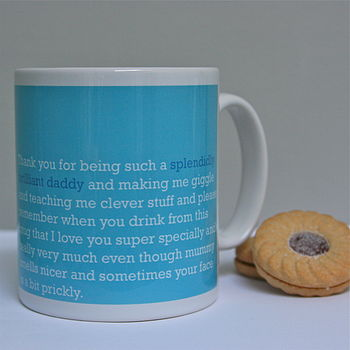 'Splendidly Brilliant Daddy' Mug