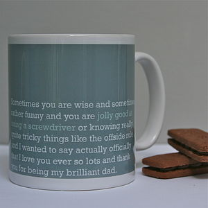 'Jolly Good At Using A Screwdriver' Dad Mug - gifts for fathers
