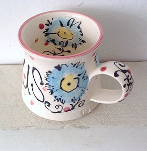 Personalised Hand Painted Mug