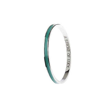 'Stroke Of Luck' Bangle