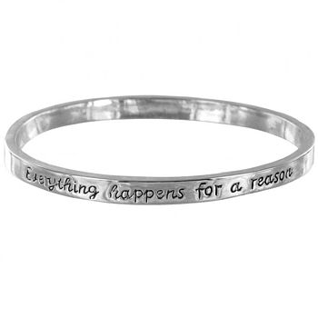 'Everything Happens For A Reason' Bangle