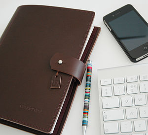 Personalised Leather Journal - diaries & journals