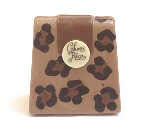 Small Chocolate Handbag Leopard Natural