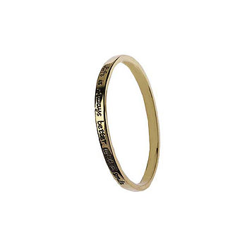 'Be True To Yourself' Bangle